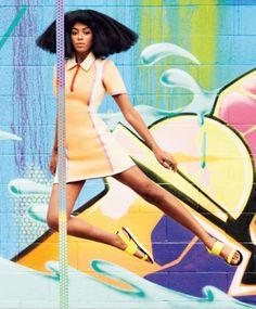 Solange Knowles Harper's Bazaar April 2014