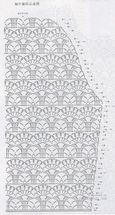 платье для девочки вязаное крючком - схемы