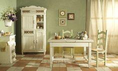 Мебель для интерьера в стиле прованс. Читать далее...