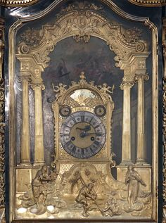 Table clock; spring-driven clock; clock-case; Hans Koch (Made by); 1575-1585; Munich.