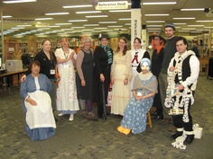 Our Librarians - Halloween 2012