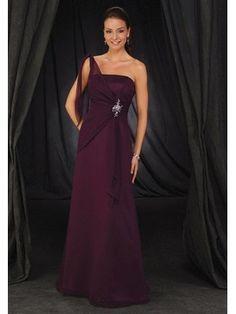 lila elegantes Cocktailkleid aus chiffon