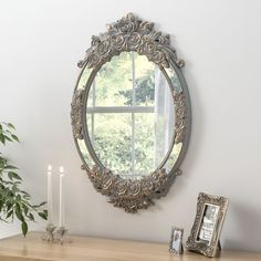 View Barcelona Oval Grey Gold Mirror product from Soraya Interiors UK, See more products like this and more wall mirror categories Ornate Mirror, Oval Mirror, Round Mirrors, Grey Mirrors, Bedroom Mirrors, Decorative Mirrors, Framed Mirrors, Cheap Mirrors, Mirrors For Sale