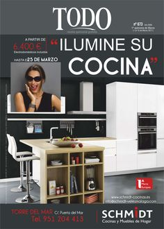 Portada en Revista Todo 673 de Schmidt Cocinas Torre del Mar
