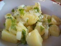 Receta Plato : Patatas aliñás por La Mary Cocina hoy