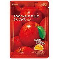 カンロ100%りんごグミ52g×6袋入【2P_1003】
