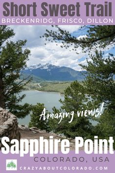 Sapphire Point is Views Trails & Chipmunks Snowboard, Last Minute Travel, Bungee Jumping, Travel Channel, Travel News, Outdoor Woman, Chipmunks, Outdoor Fun, Rafting