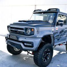 Jimny Suzuki, Jeeps, Samurai, Monster Trucks, Mini, Cars, Autos, Jeep, Samurai Warrior