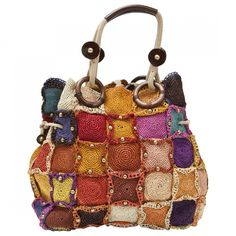 Buy your multicolour handbag JAMIN PUECH on Vestiaire Collective, the luxury consignment store online. Second-hand Multicolour handbag JAMIN PUECH Multicolour in Other available.Crazy for Arts - Bags Crochet Tote, Crochet Handbags, Crochet Purses, Sac D'art, Bag Quilt, Gypsy Bag, Ethnic Bag, Hippie Bags, Art Bag