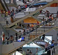 China mall, by Mitchell Frye