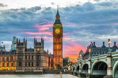 Londres um destino obrigatório - Bilhete de Viagem