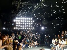 Bubbles at Romanian Designer Spring/Summer 2013 - Mercedes Benz Fashion Week