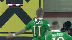 WCQ: McClean goal -- Republic of Ireland (48')