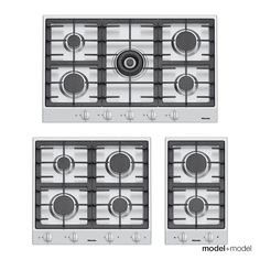 ge profile 4burner gas cooktop with downdraft exhaust white common 30in actual 2975in home pinterest