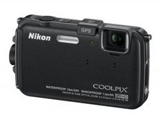 Nikon AW100 a rugged, water-proof, shock-proof, freeze-proof compact digital camera with 5x Zoom-NIKKOR lens and 16mp CMOS sensor to record action ...