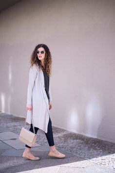 fair fashion outfit, sustainable cardigan, vegan bag and shoes