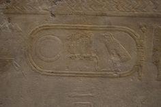 Cartouche of Sahure