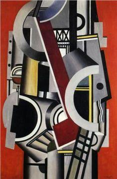 Machine element - Fernand Leger 1924