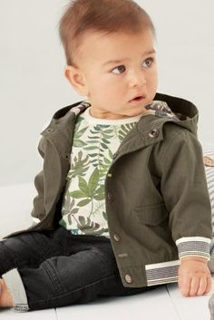 Buy Khaki Jacket (0mths-2yrs) from the Next UK online shop