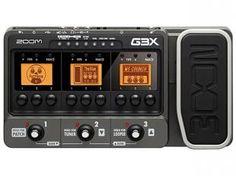 Pedaleira para Guitarra - Zoom G3 X