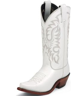 Nocona Boots Legacy Western  LD2737 White Calf Womens, $189.95
