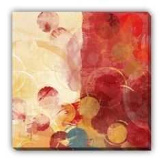 Magazin online de tablouri si postere de arta, tablouri canvas decoratiuni pictura moderna abstract picturi religioase reproduceri de arta fotografii - ABSTRACT - Orange Lights