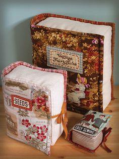 Book Pillows & Pincushion | Flickr - Photo Sharing!