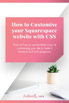 In this blog post, we'll be learning the basics of adding CSS into  Squarespace and also implementing a couple of projects that take minutes to  add and tweak. Squarespace makes it super easy to change the CSS and you  can get some great results with only a couple of lines of code.