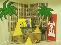 "Vacation bible school ""Egyptian Theme."""