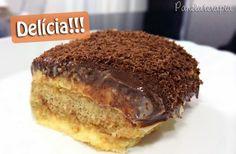 PANELATERAPIA - Blog de Culinária, Gastronomia e Receitas: Pavê de Maracujá e Chocolate
