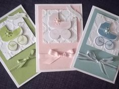 Something for Baby, Modern Mosaic EF, Itty Bitty Banners, Baby's First & Bitty Banners Framelits, Ribbon, Pearls