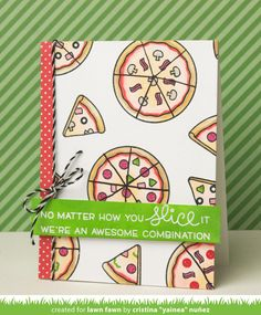 pizza my heart | Lawn Fawn