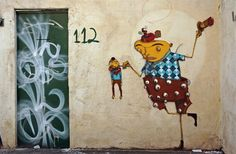 Os Gemeos 2008  http://dailyserving.com/2010/01/from-the-ds-archives-os-gemeos/