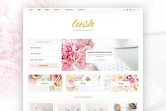 Lush - Genesis Child Theme by Meadow Creative on @CreativeWork247 - Fonts, Graphics, Themes, Templates