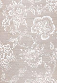 Hothouse Flowers Sisal in Haze & Chalk, 5006091. http://www.fschumacher.com/search/ProductDetail.aspx?sku=5006091 #Schumacher #celeriek
