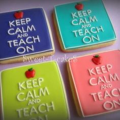 Sweet-T-Cakes Perfect for teacher gifts