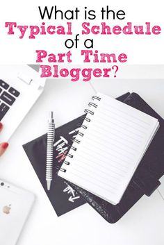 Ever wonder what a blogger's day looks like? I work full time and blog in my spare time. Here is my schedule of a part time blogger