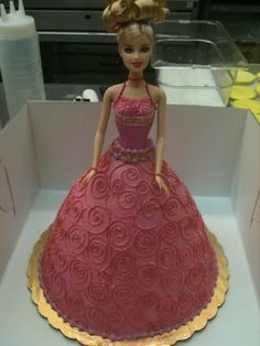 Birthday Cakes: Beautiful barbie cakes