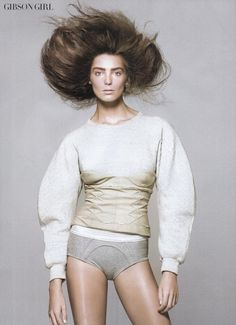 Daria Werbowy for Vogue, May 2010.  Photographed by David Sims and styled by Tonne Goodman.