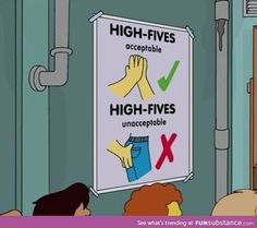The Simpsons Way of Life (Posts tagged best) High Five, Reaction Pictures, Funny Pictures, We Heart It, Show Me The Way, Inspirational Quotes Pictures, The Simpsons, Simpsons Quotes, Way Of Life