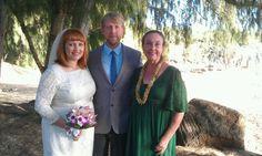 A wonderful Shipwrecks beach wedding