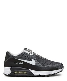 hot sale online 020a2 aaa2e Nike Ash Grey and White Air Max Lunar 90 low top sneaker-FW14NIKE35 -  Sneakerboy