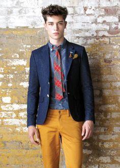 nice. yellow pants.