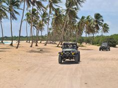 Just Safari Jeeps in Action Punta Cana