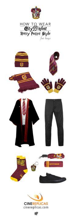 Gryffindor Harry Potter Style for Boys www.cinereplicas.com