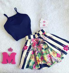 Falda y blusa roupas de grife, roupas femeninas, roupas fofas, roupas bonit Girly Outfits, Skirt Outfits, Classy Outfits, Outfits For Teens, Trendy Outfits, Summer Outfits, Cute Outfits, Girl Fashion, Fashion Dresses