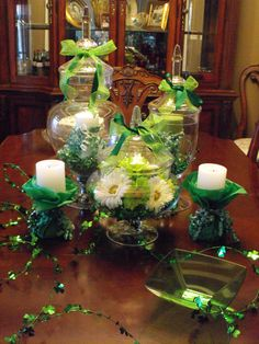 My St. Pattys day decor, but really cute ideas here ;)