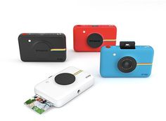 New Gear: Polaroid Snap Is A Camera and Printer In One. A new pocket-sized instant digital camera from Polaroid. Instant Digital Camera, Instant Print Camera, Digital Cameras, Polaroid Snap Camera, Polaroid Cameras, Mini Camera, Camera Gear, Polaroids, Free Photos Prints
