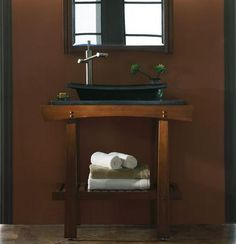 Photo Image Wave Bathroom Vanity From Xylem Bathroom Vanities Pinterest Bathroom vanities Modern and Modern bathrooms