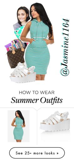 """""""Summer/Spring Outfit"""" by jasmine1164 on Polyvore featuring Casetify and Glamorous"""